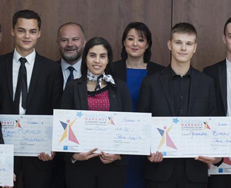 Les lauréats des bourses d'Excellence 2017