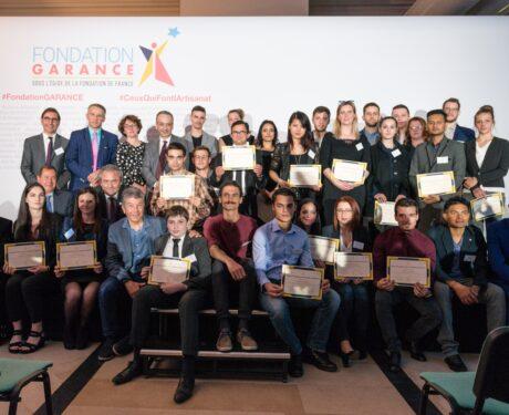 La Fondation GARANCE a récompensé 23 apprentis de l'artisanat pour leur mérite et leur parcours d'excellence