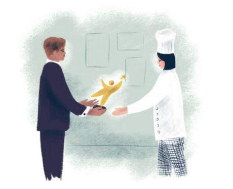 Récompenser, l'excellence de jeunes apprentis motivés et méritants